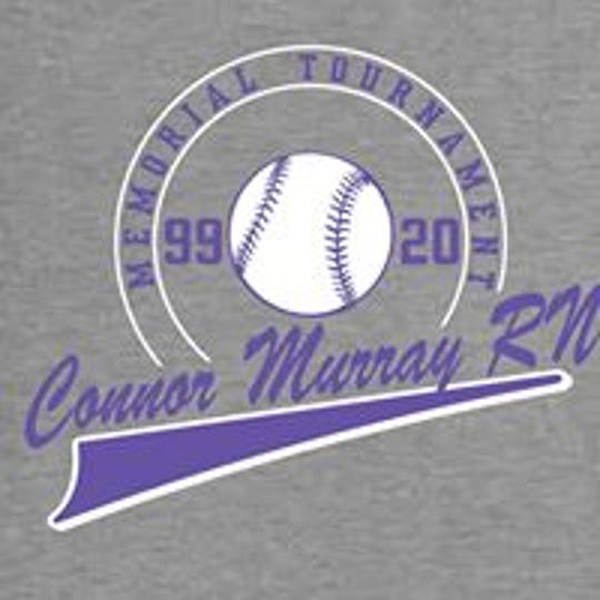 Connor Murray RN Memorial Big Ball Tournament shirt.