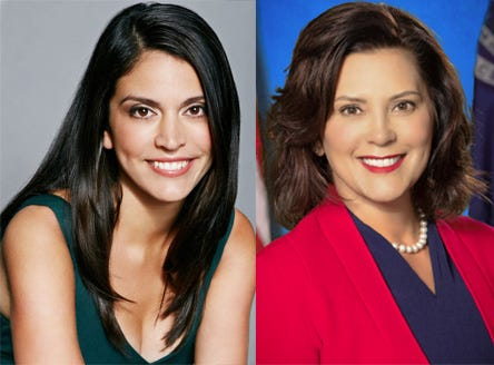 SNL's Cecily Strong and Mich. Gov. Gretchen Whitmer