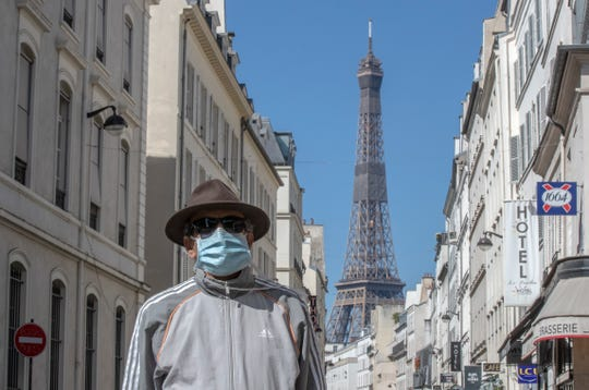 France continues to be under an extended stay-at-home order until May 11 in an attempt to slow the spread of the COVID-19 pandemic.