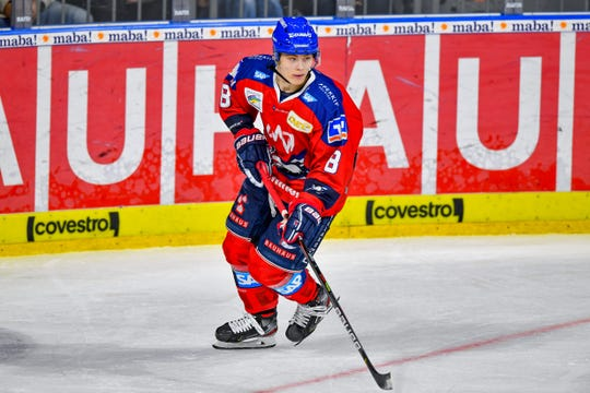 Germany's Tim Stutzle is the No. 1-ranked European prospect for the 2020 NHL Draft.