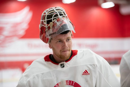 Swedish goaltender Victor Brattstrom signed a two-year entry level deal with the Detroit Red Wings on Wednesday.