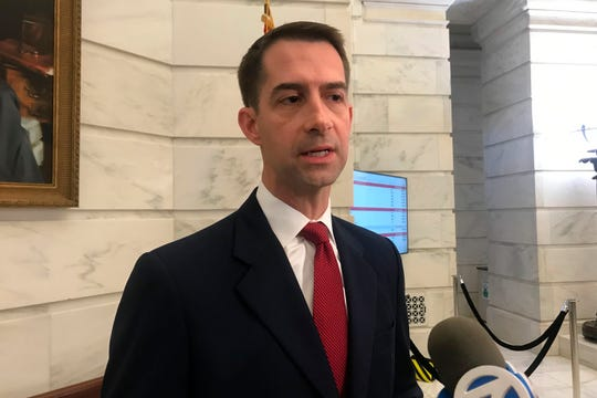 Republican U.S. Sen. Tom Cotton created a stir when he suggested Chinese students shouldn't be able to study science, technology, engineering and mathematics at U.S. universities.