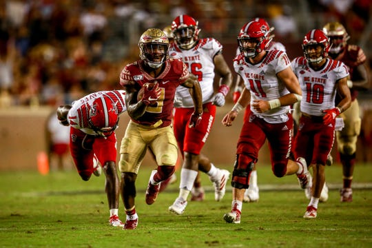 Akers finished with 34 total touchdowns over the course of his 35 games at FSU.