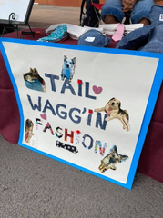 Carah Vau, 10, operates Tail Waggin' Fashion at the Las Cruces Farmers and Crafts Market as part of the Jr. Vendors Program.