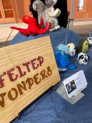 Felted Wonders was created by Taylor Vau, a tenth-grader at Mayfield High School.