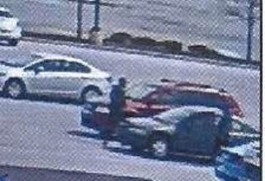 Northeastern Regional Police are asking for help in identifying these two individuals, seen with their getaway vehicle, wanted for retail theft at the East Manchester Township Giant.
