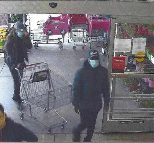 Northeastern Regional Police are asking for help in identifying these two individuals, wanted for retail theft at the East Manchester Township Giant.