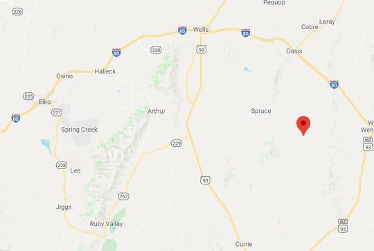Gushute Valley, Nevada.