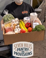 Liberty Bar & Restaurant is offering Pantry & Provision boxes with about 20 items each Saturday.