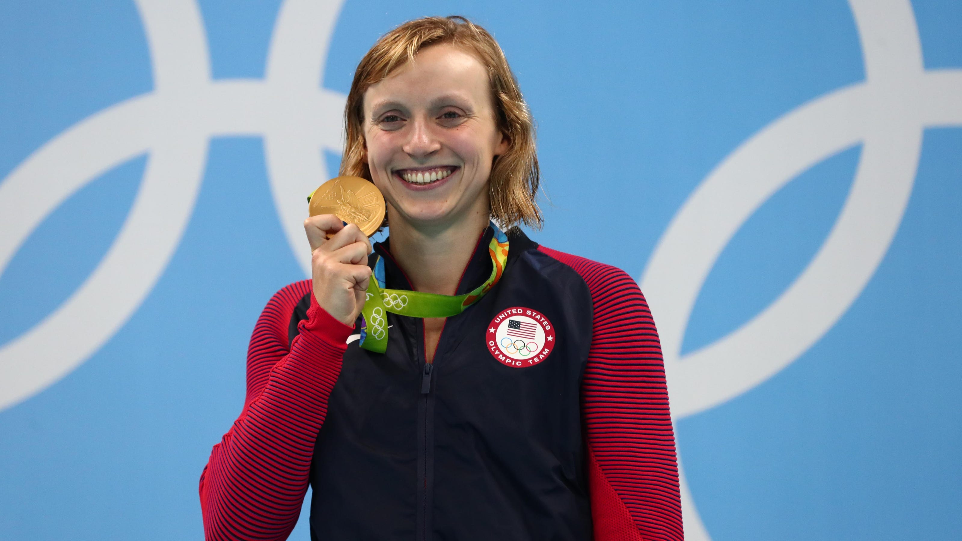 Olympic star Katie Ledecky has training, Stanford studies this week instead of Tokyo races - USA TODAY