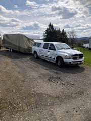Mark Hoskins, of Johnson City, traveled about three and a half hours to Lake View, NY to loan his travel trailer to a nurse working in a nursing home that has positive COVID-19 patients.
