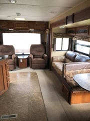 Johnson City resident Mark Hoskins loaned his 29-foot travel trailer to a nurse living in Lake View, NY.