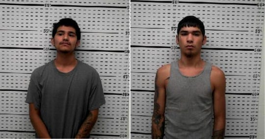 Joseph Gonzalez, 17, and Jesse M. Munoz, 18.