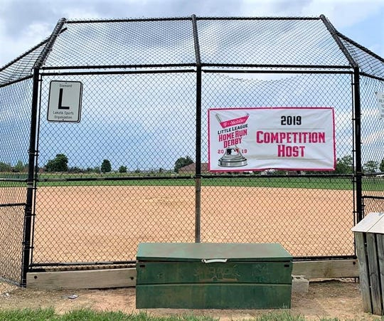 Fields like this in the Lakota Sports Organization are currently sitting empty due to the novel coronavirus. April 27, 2020.