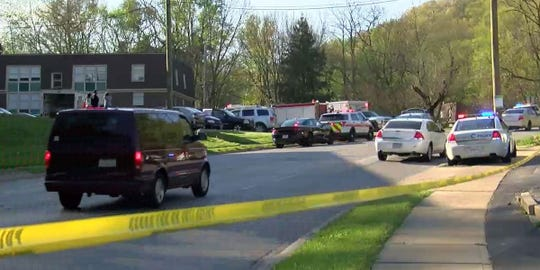A shooting took place on Fairbanks Avenue Monday.