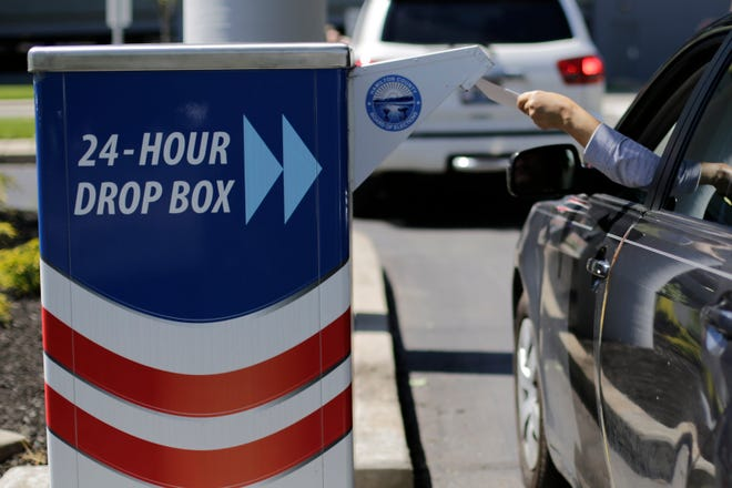 A lawsuit decided whether more than one drop box is permitted per county.