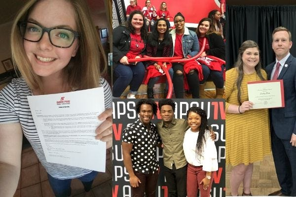 Earlier this year, Lacy Marlin told her friends and family to mark May 8 on their calendars because that was the day of her commencement at Austin Peay State University.