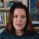 Gov. Gretchen Whitmer does an interview with Politico on Monday, April 27, 2020.