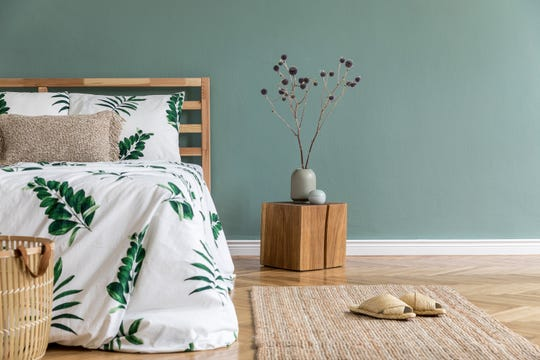 Quality linens, essential oils and blackout shades can all contribute to a more restful night's sleep.