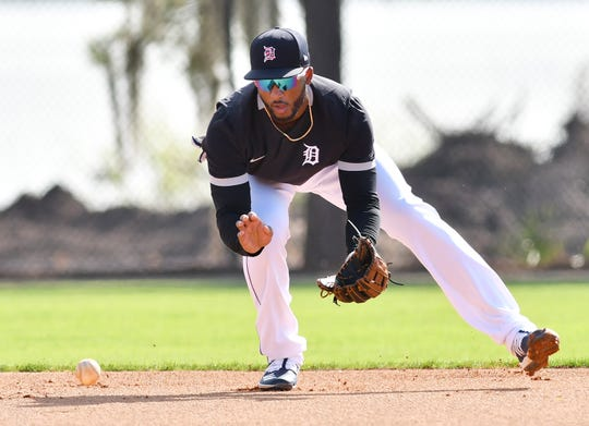 After playing all over the diamond the last two seasons, Niko Goodrum appears to be settling in at shortstop.