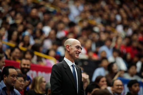 NBA commissioner Adam Silver said the league is considering all options as it tries to deal with the coronavirus pandemic.