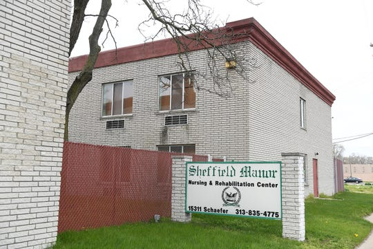 Sheffield Manor in Detroit has had 12 deaths due to COVID-19 and 55 cases of the disease, according to city data.