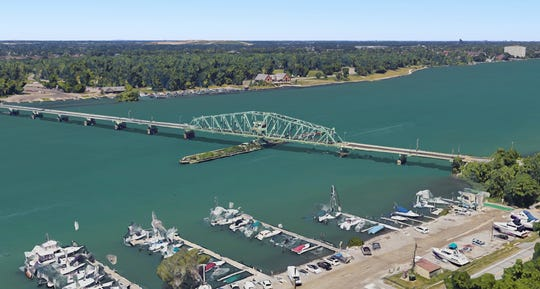 Work on the bridge over the Trenton Channel will briefly overlap construction on a Jefferson Avenue bridge on the route from there to the Grosse Ile Toll Bridge, the other entryway to the largest island in Grosse Ile Township.