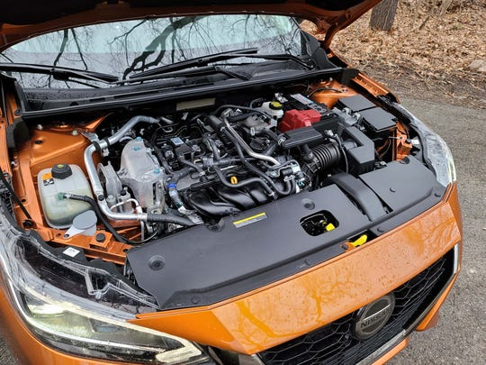 The 2020 Nissan Sentra is powered by a 149-horse 4-banger mated to a CVT tranny.