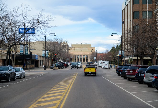The city is considering using tax increment financing dollars earmarked for downtown business projects to fix the facade of the Civic Center which is prompting business interests to seek additional flexibility in how the funds can be used.