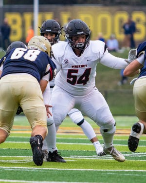 Pinckney's Griffin Thompson is one of three Livingston County football players chosen to the East roster for the East-West All-Star Game, which was cancelled due to the coronavirus.
