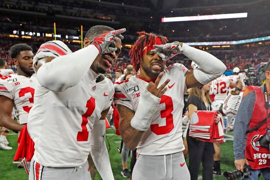 By staying at Ohio State for an extra year, cornerback Damon Arnette (No. 3) turned himself into a first round NFL Draft pick, sharing that distinction with fellow corner Jeff Okudah (1) and OSU defensive end Chase Young.