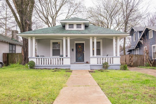 Kevin Carroll and Katy Simmons-Carroll wanted a fixer upper, and they found this gem in the Idlewild National Historic District in Midtown.