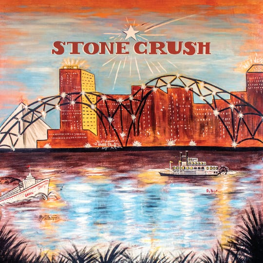 """The cover of Light in the Attic's """"Stone Crush"""" compilation, by James """"Brick"""" Brigance."""""""