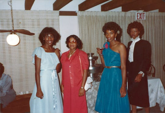 """Cheryl King of Kick (in blue dress), one of the artists featured on the compilation """"Stone Crush: Memphis Modern Soul 1977-1987,"""" now out from Light in the Attic Records."""