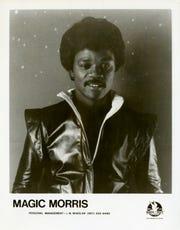 """Stone Crush"" artist Magic Morris."