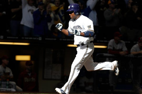 Yuniesky Betancourt was stellar for the Brewers in the 2011 playoffs, batting 13 for 42 (.319) with a homer and six RBI.