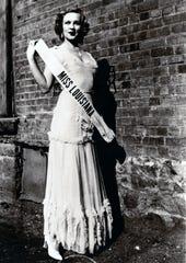 Mildred Kingsbury as Miss Louisiana 1931.
