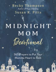 """Midnight Mom Devotional,"" by new Franklin resident Becky Thompson and her mom, Susan K. Pitts, was released March 31, 2020."