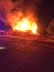A residential fire near 43rd Avenue and Union Hills Drive in Phoenix on April 25, 2020, left a man dead.