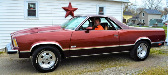 Kenny Holcomb and his 1978 Caballero will join other vintage car enthusiasts as well as area first responders in a rolling car show through Port Clinton on Sunday.