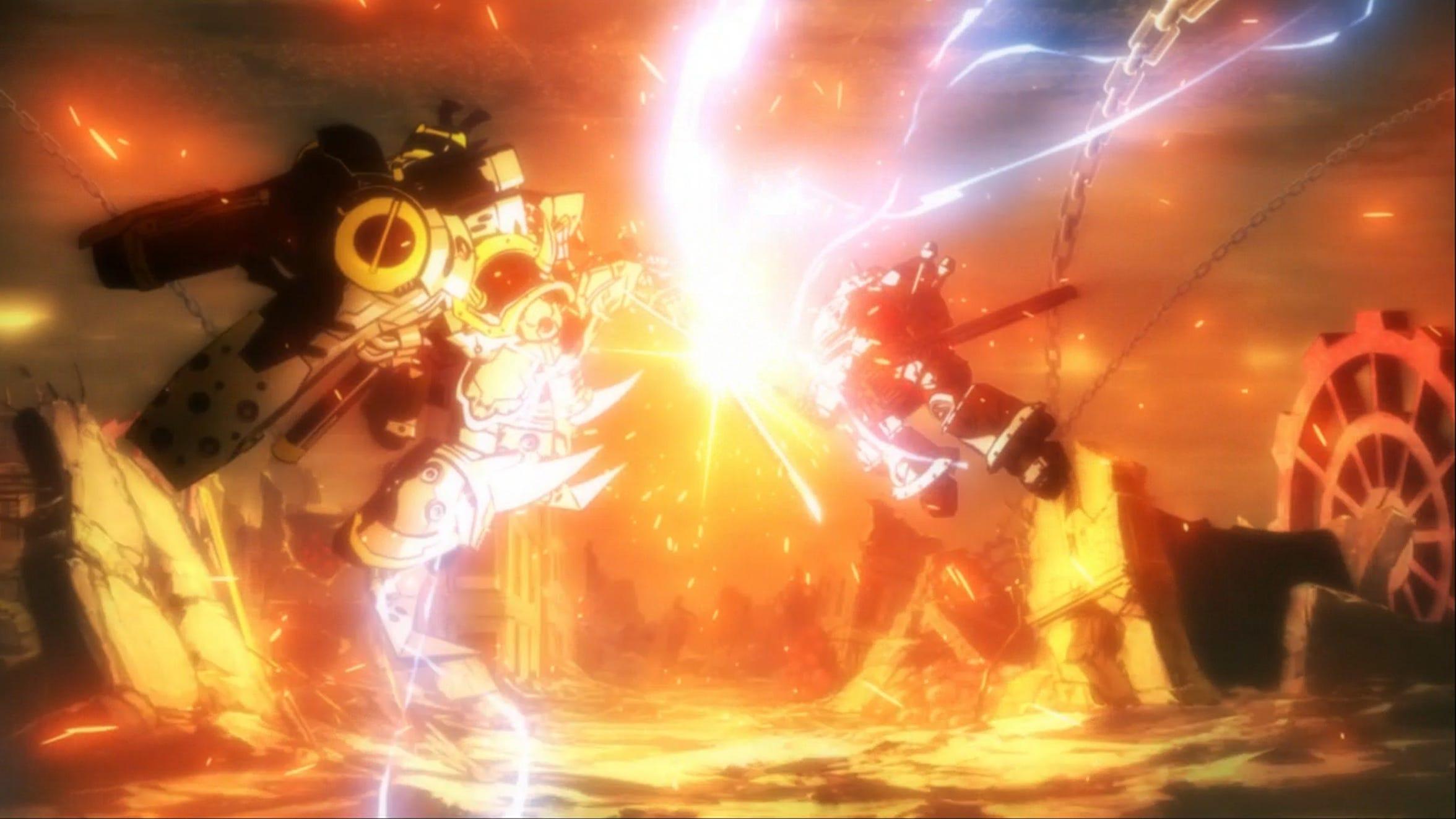 The mysterious Yaksha and Sakura Amamiya clash in the new Sakura Wars.