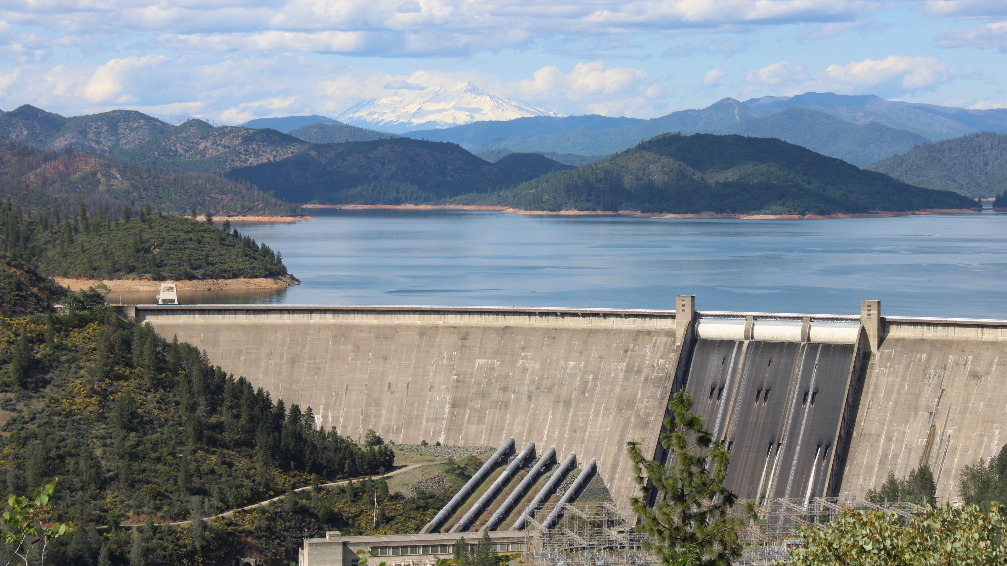 Trump administration studies raising the height of Shasta Dam - Record Searchlight
