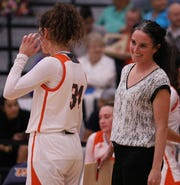 NSU women's basketball coach Ann Nimz (right) expects to have a hardworking Demons team.