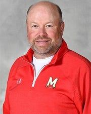 Maryland coach Mark Montgomery