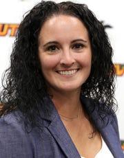 NSU women's basketball coach Anna Nimz
