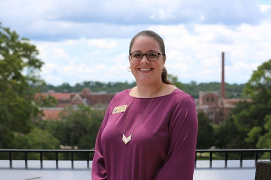 Amy Haggard, assistant director of alumni and student engagement for Honors, Scholars and Fellows at Florida State University.