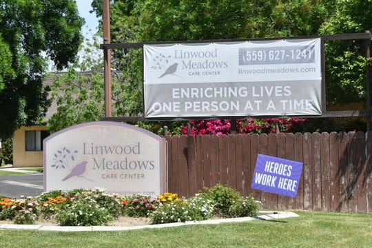 Linwood Meadows Care Center in Visalia announced 10 of its patients tested positive for COVID-19.