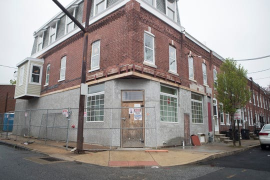 The future home of Jerry Deen's on the corner of Church and East 7th Streets in Wilmington's Eastside neighborhood.