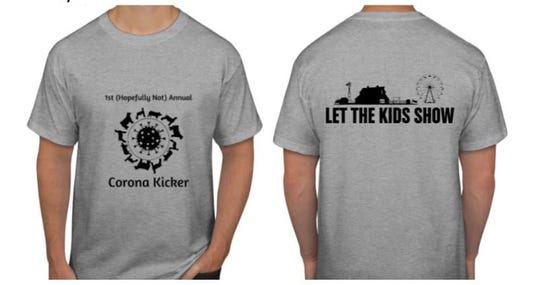 The first order for Corona Kicker t-shirts is nearly sold out and they are looking at getting sweatshirts to support the virtual show. Visit the event Facebook page for more information.