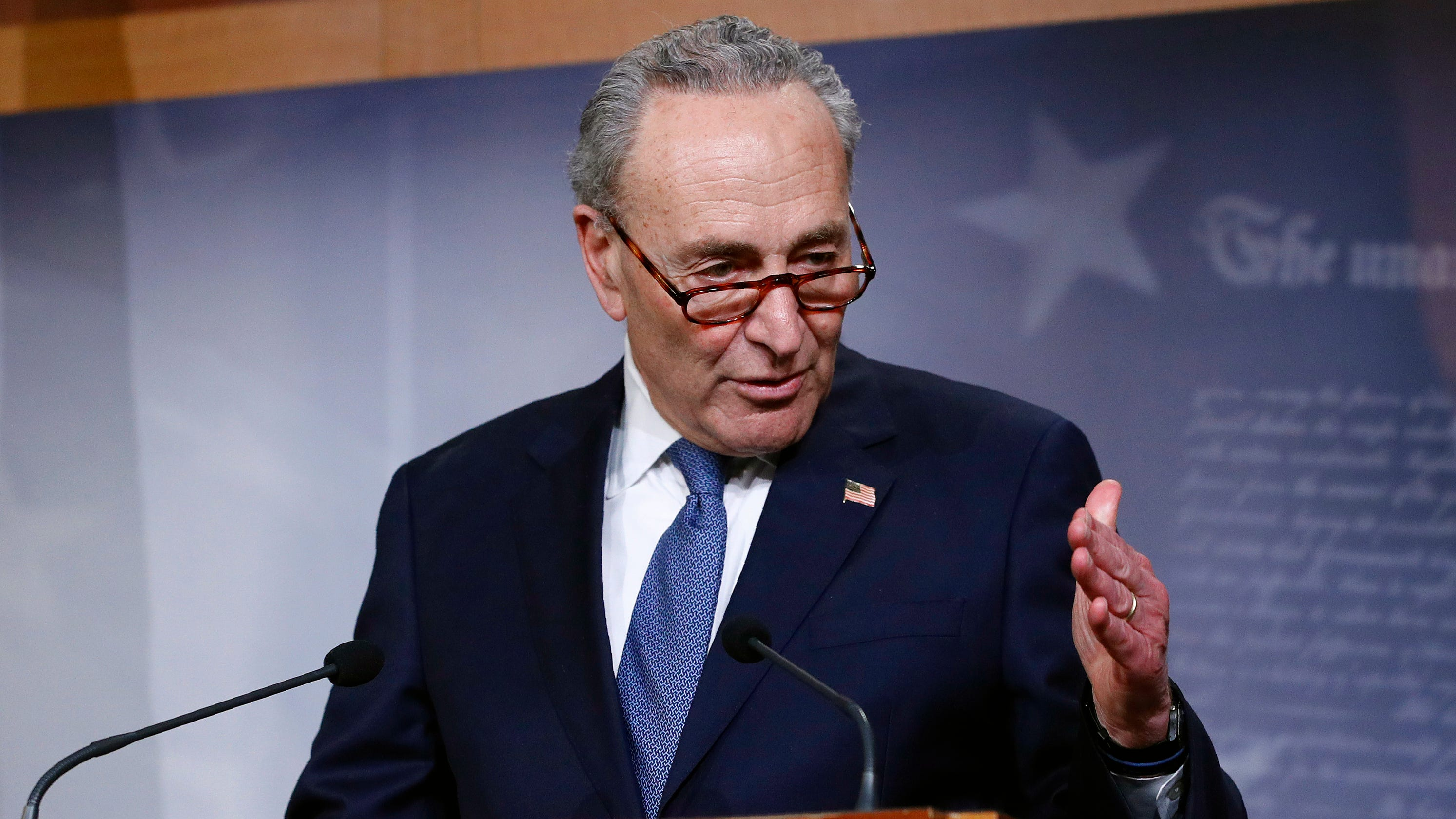 Schumer proposes measure to keep Trump's name off coronavirus stimulus checks